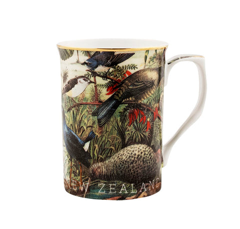 Native Birds NZ Ceramic Mug