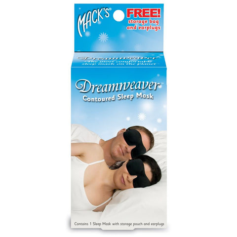 Macks Contoured Sleepmask with Earplugs