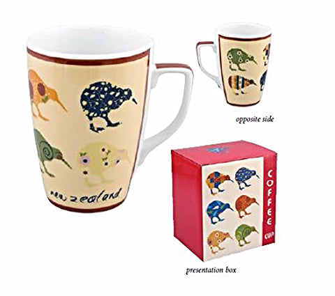 Kiwi Applique Ceramic Mug