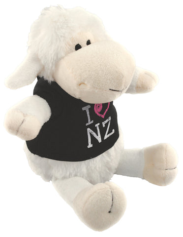 I Heart NZ T-Shirt Sheep Soft Toy