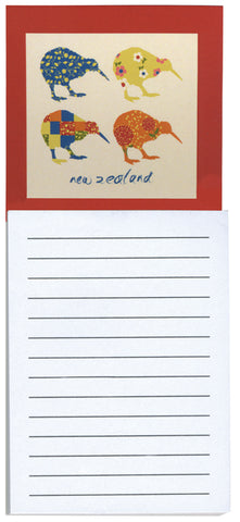 Kiwi Applique Magnetic Notepad