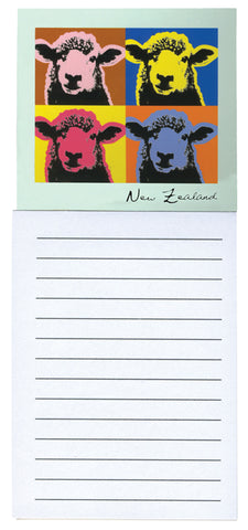 Pop Art Sheep Magnetic Notepad