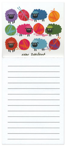 Woolly Brights Magnetic Notepad