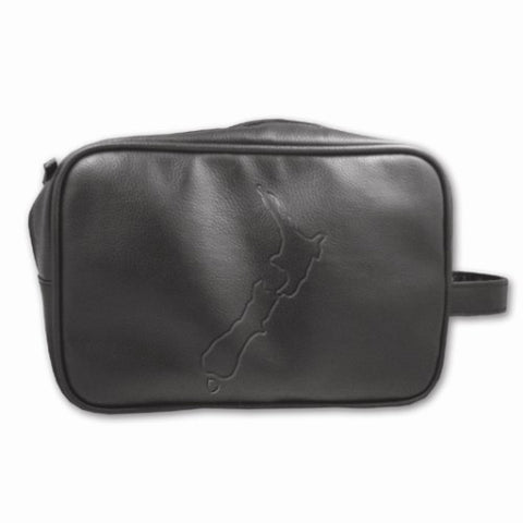 Men's Toiletries Bag NZ Map