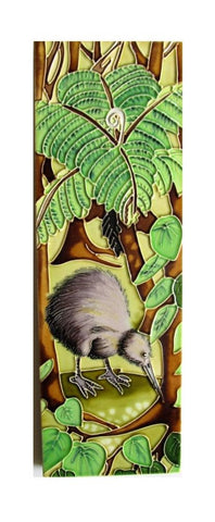 Ceramic Tile Monique Endt Kiwi Undergrowth Tile