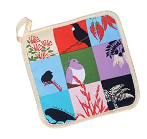 NZ Birds & Plants Pot Holder