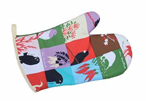 NZ Birds & Plants Oven Glove