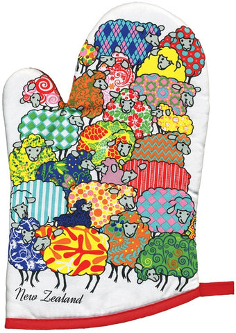Psychedelic Sheep Oven Glove