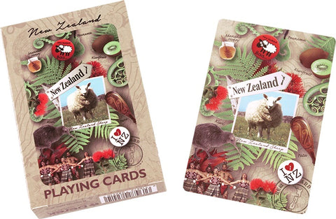 Playing Cards : Destination NZ