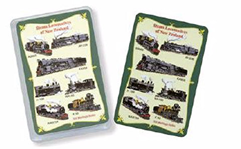 Playing Cards Steam Locomotives