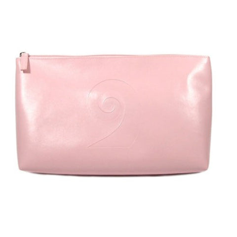 Kiwi Icons Toilet Bag Pink Koru