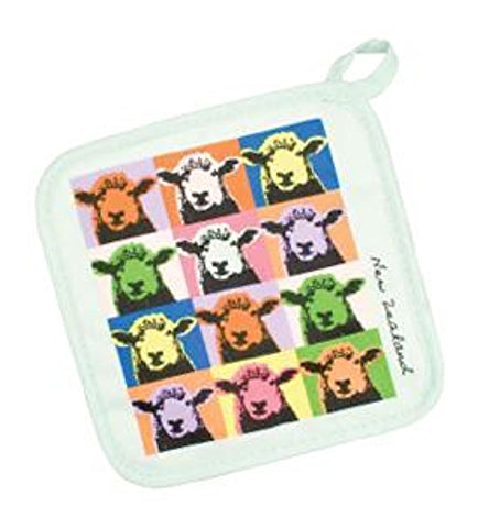 Pop Art Sheep Pot Holder