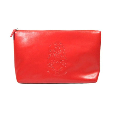Kiwi Icons Toiletry Bag - Red Tiki