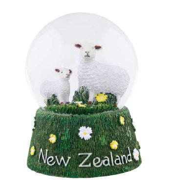 Sheep Snow Globe Large
