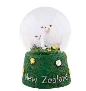 Sheep Snow Globe Small