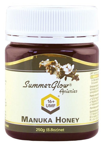 Summer Glow Manuka Honey 250g 16+ UMF