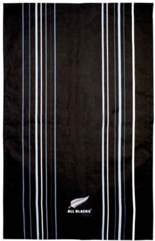 All Blacks Stripe Tea Towel