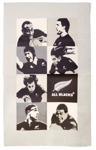 All Blacks Montage Tea Towel