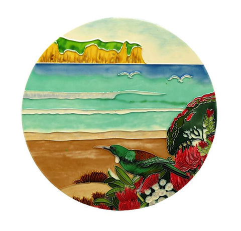 Ceramic Tile : Tui at the beach Circular Tile