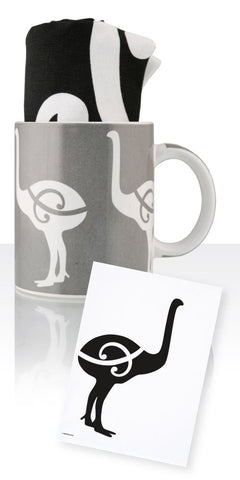 Moa Ceramic Mug & Tea Towel
