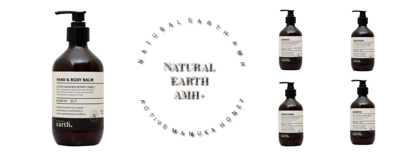 Natural Earth Hair & Body Care with Active Manuka Honey made in New Zealand
