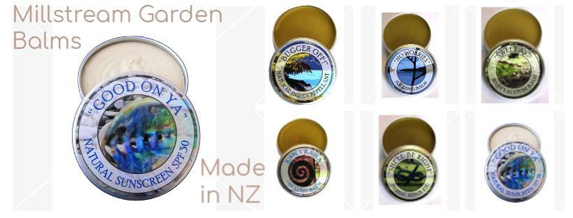 Millstream Balms Made in NZ