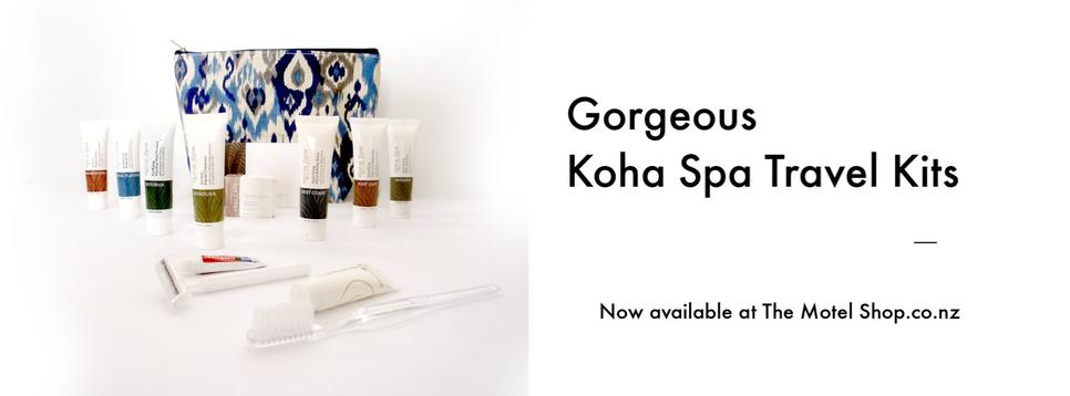 Koha Spa Luxury Travel Kit