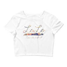 Load image into Gallery viewer, LoFlo Babe's Crop Tee