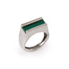 Malachite Inlay Ring