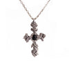 Black Onyx Brocade Cross