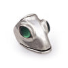 Green Onyx Lizard King Ring