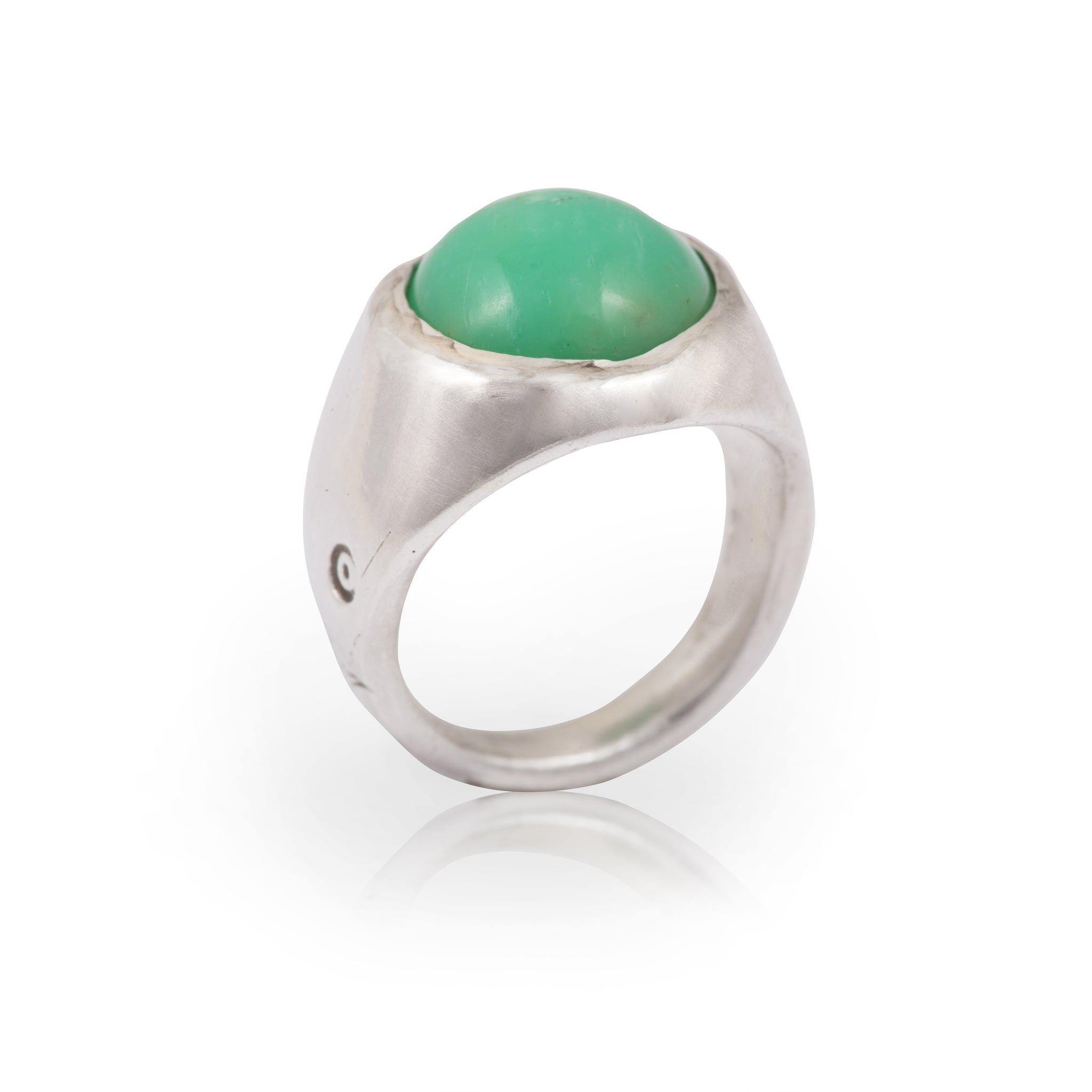 Chalcedony Dome Ring