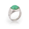 Chrysoprase Holy Dome Ring