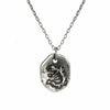 Fossil Dragon Tag Pendant
