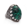 OOAK Malachite Dragon Tooth Ring