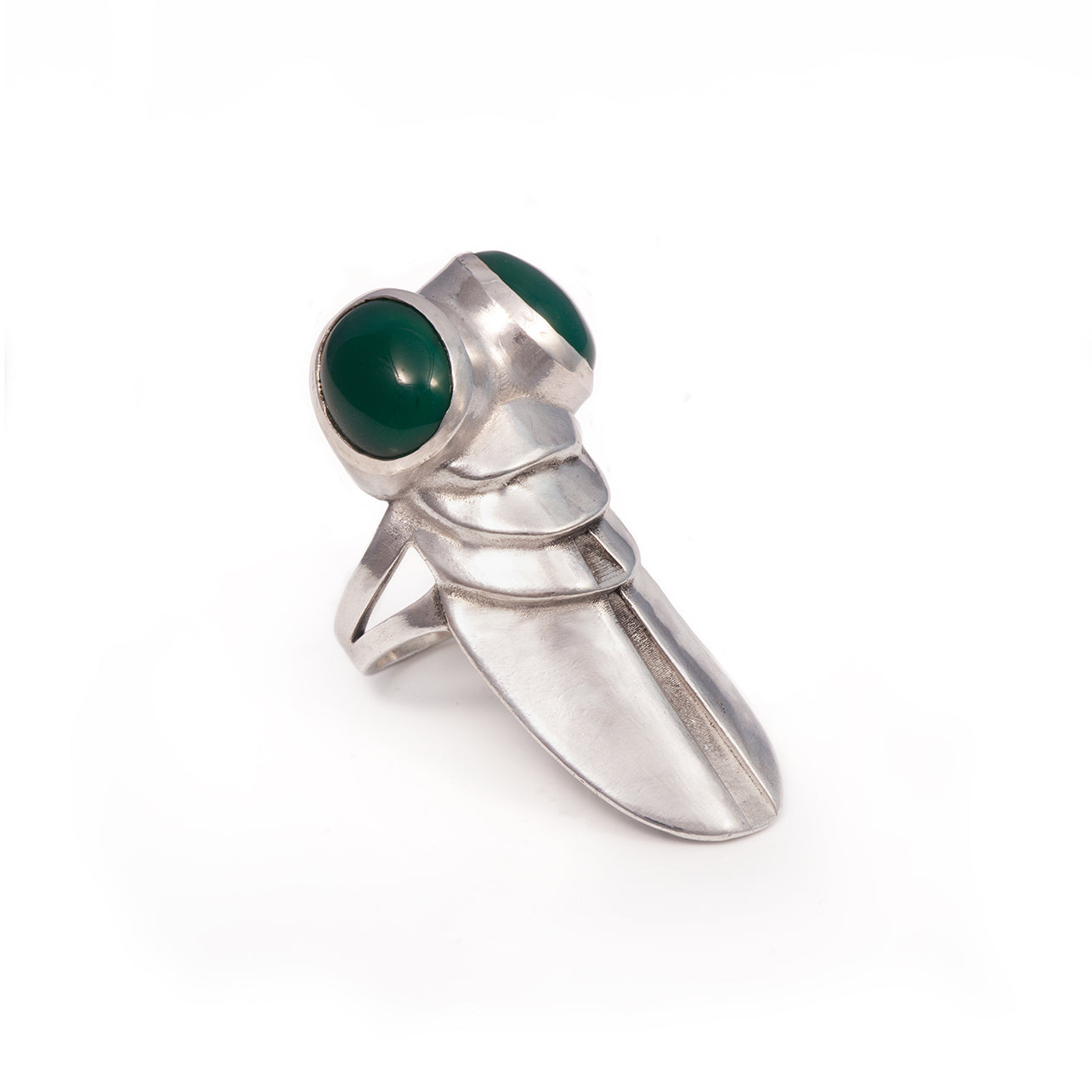 Green Onyx Superfly Ring