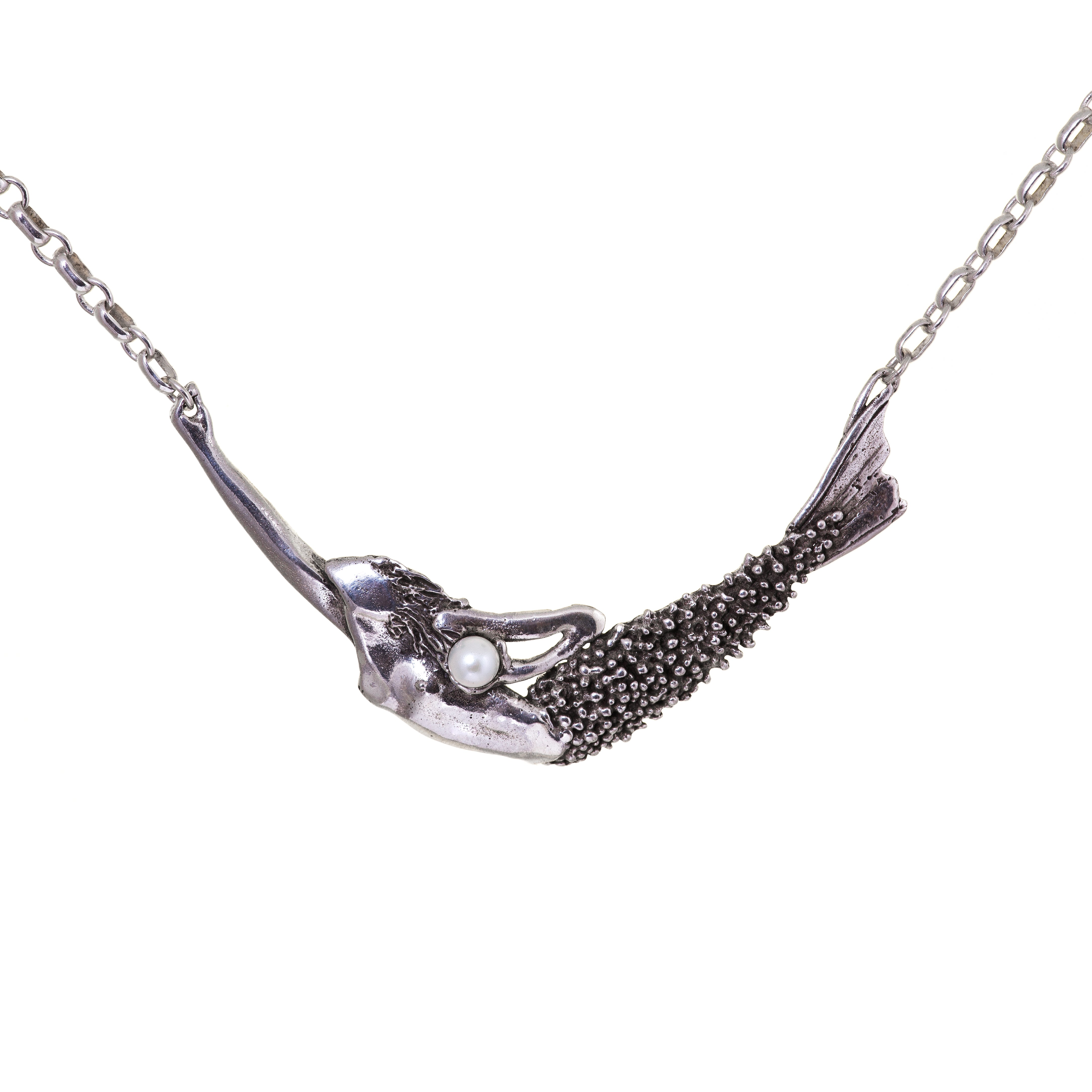 Diving Mermaid Necklace