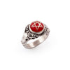 Ewaka Red Baby Devil Heart Ring