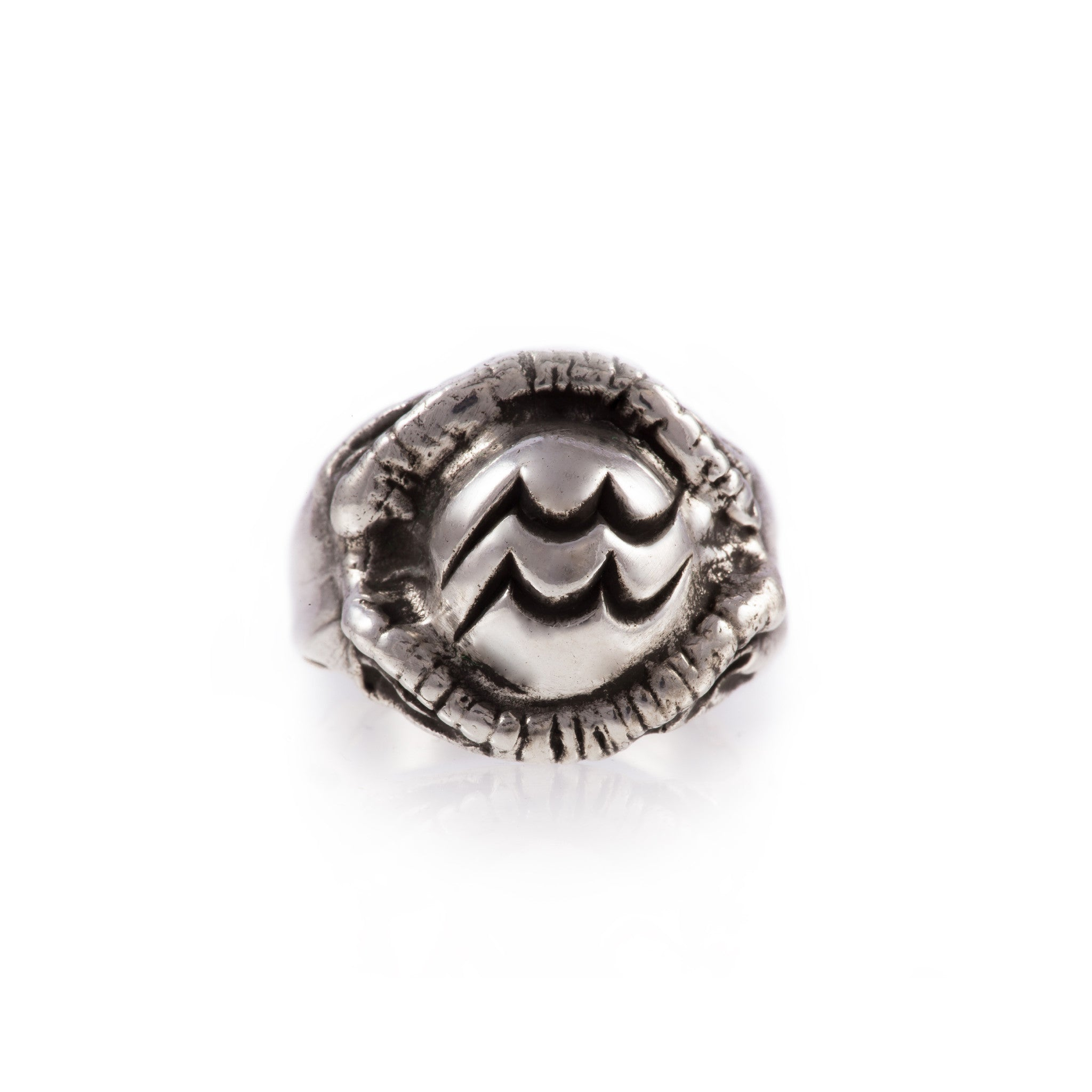 Aquarius Zodiac Ring