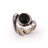 Black Onyx Magician's Mirror Ring