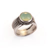 Chrysoprase Eternal Orb Ring