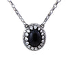 Black Onyx Dragon Tooth Necklace