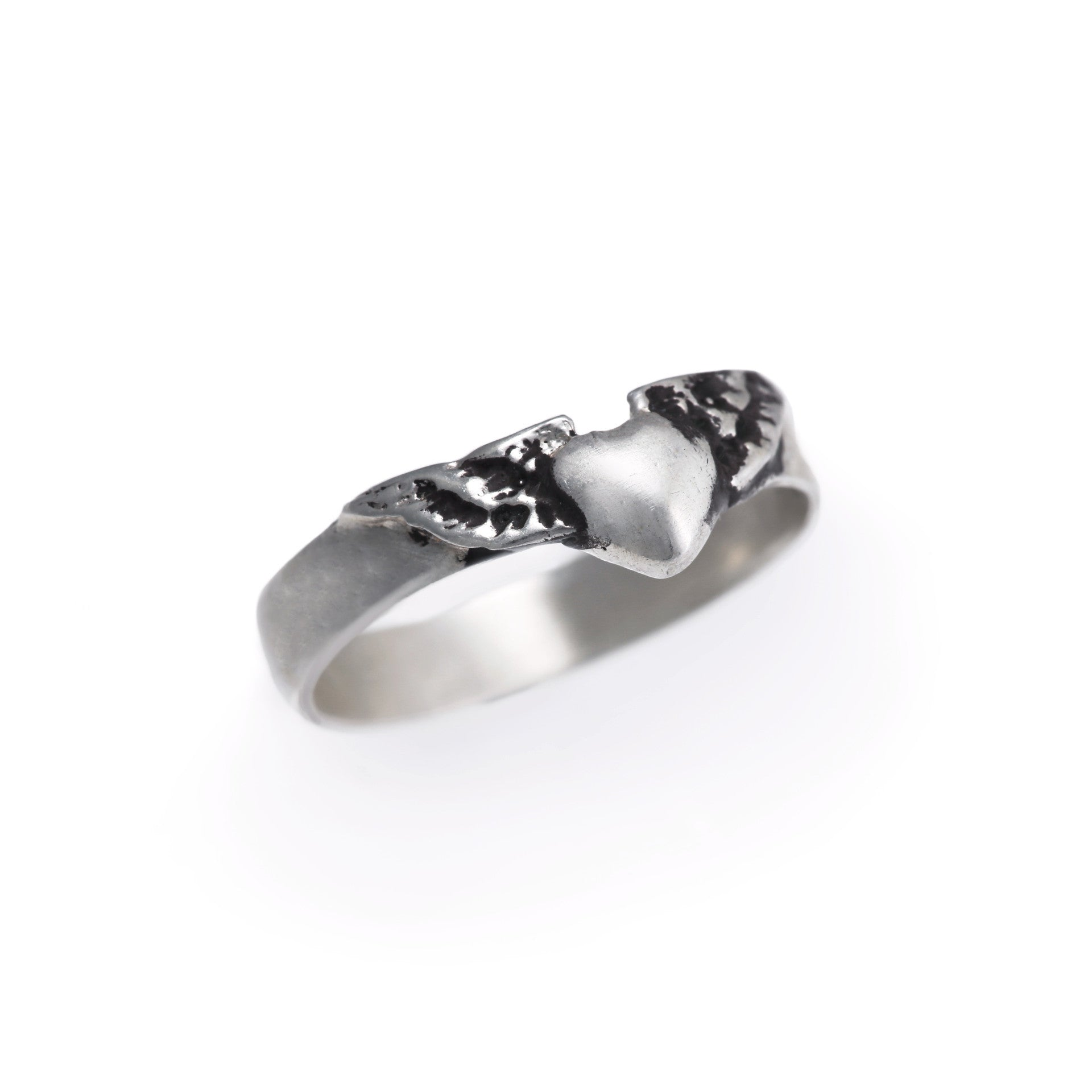 Baby Flying Heart Ring