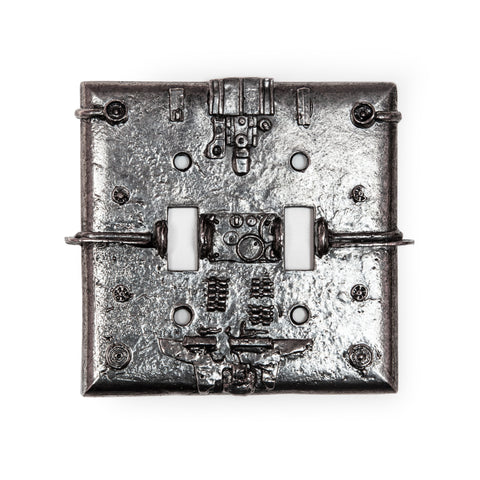 Future History Double Switch Plate
