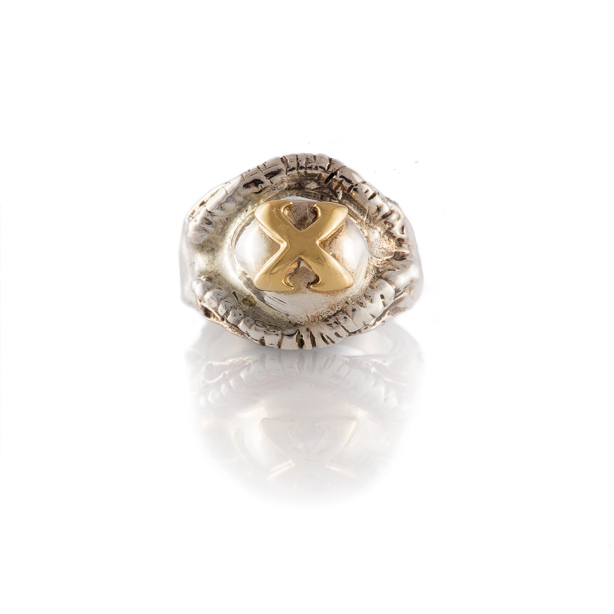 Limited Edition 10th Year Gold X Pagan Ring