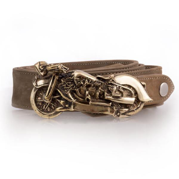Blazin' Motorcycle Belt Buckle