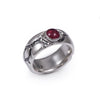 OOAK Ruby Roman Road Ring