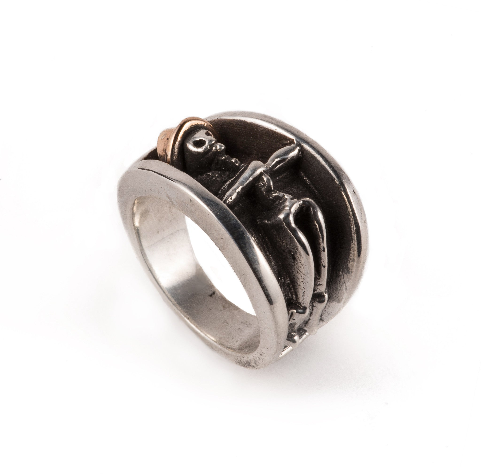 Tombstone Cowboy Ring