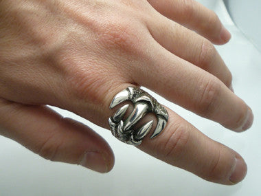Wrapped Claw Ring