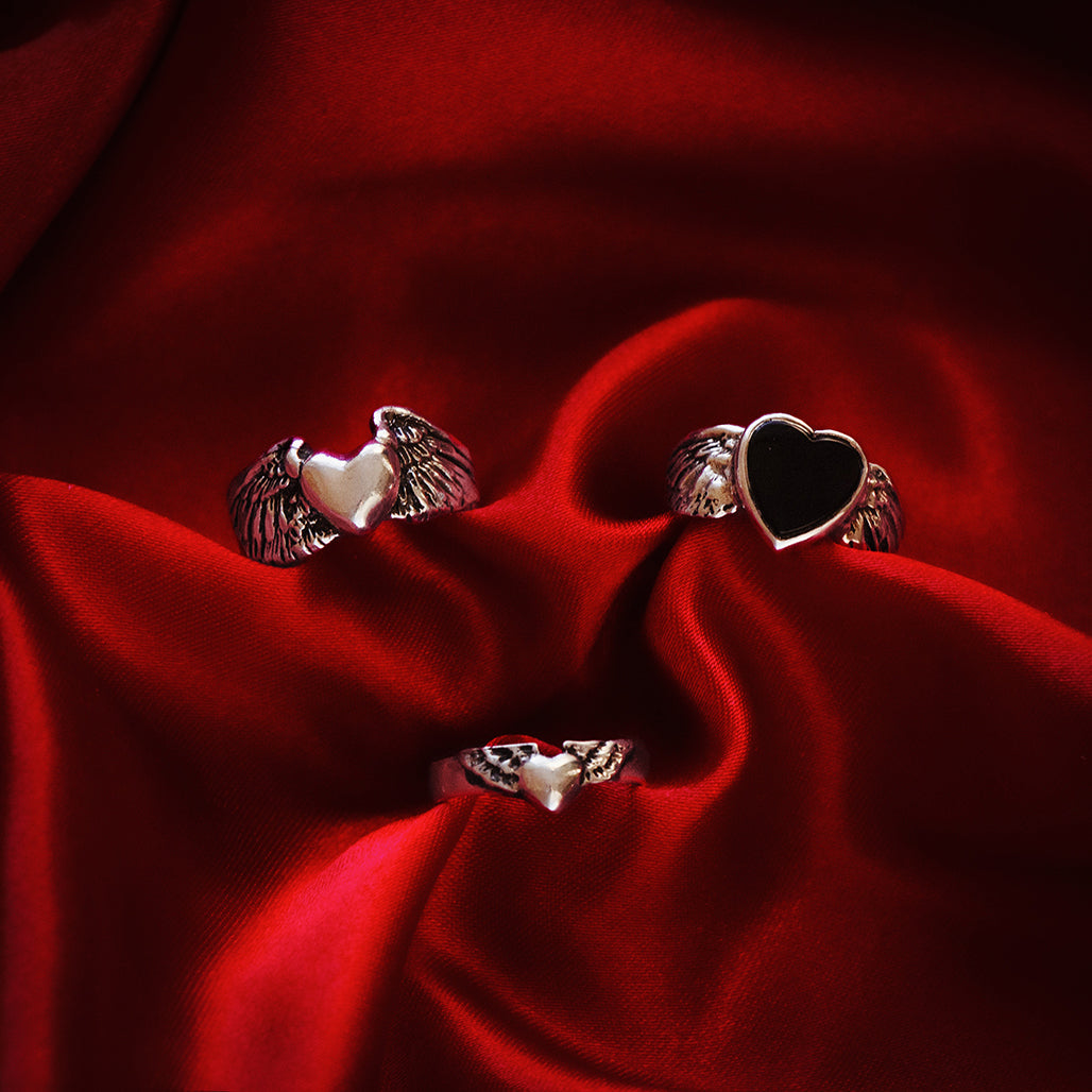 Flying Heart Ring